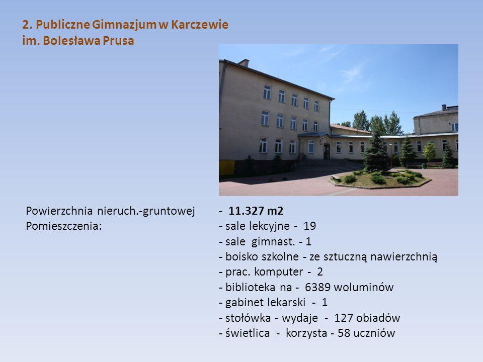 2. Publiczne Gimnazjum w Karczewie im. Bolesława Prusa