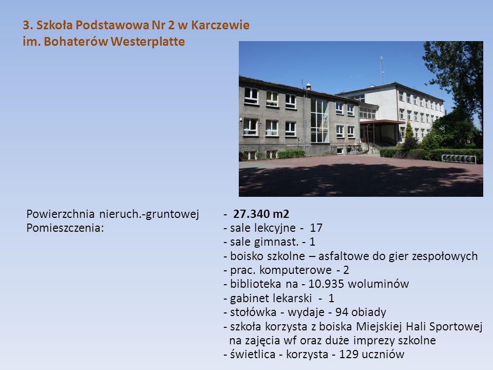 3. Szkoła Podstawowa Nr 2 w Karczewie im. Bohaterów Westerplatte