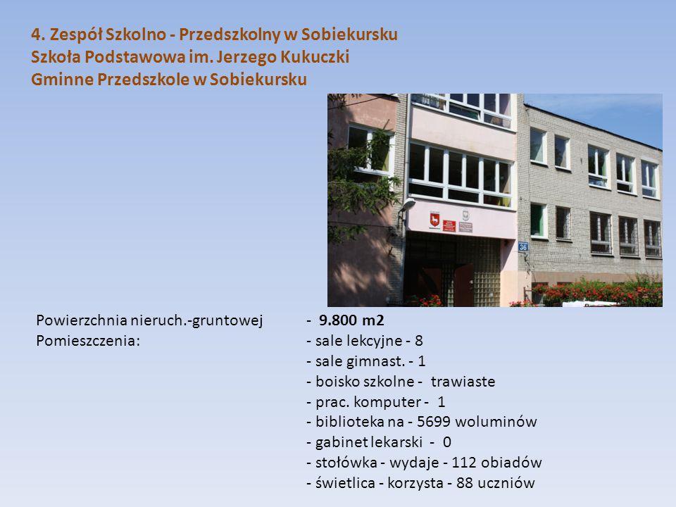 4. Zespół Szkolno - Przedszkolny w Sobiekursku
