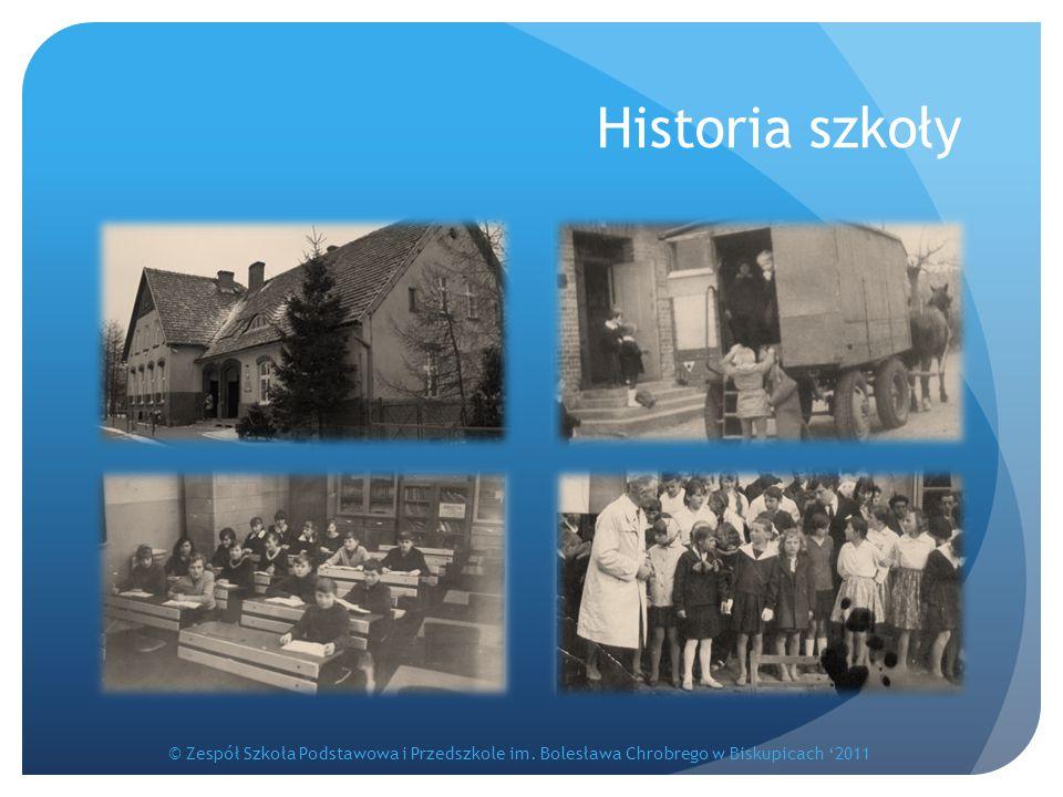 Historia szkoły © Zespół Szkoła Podstawowa i Przedszkole im.