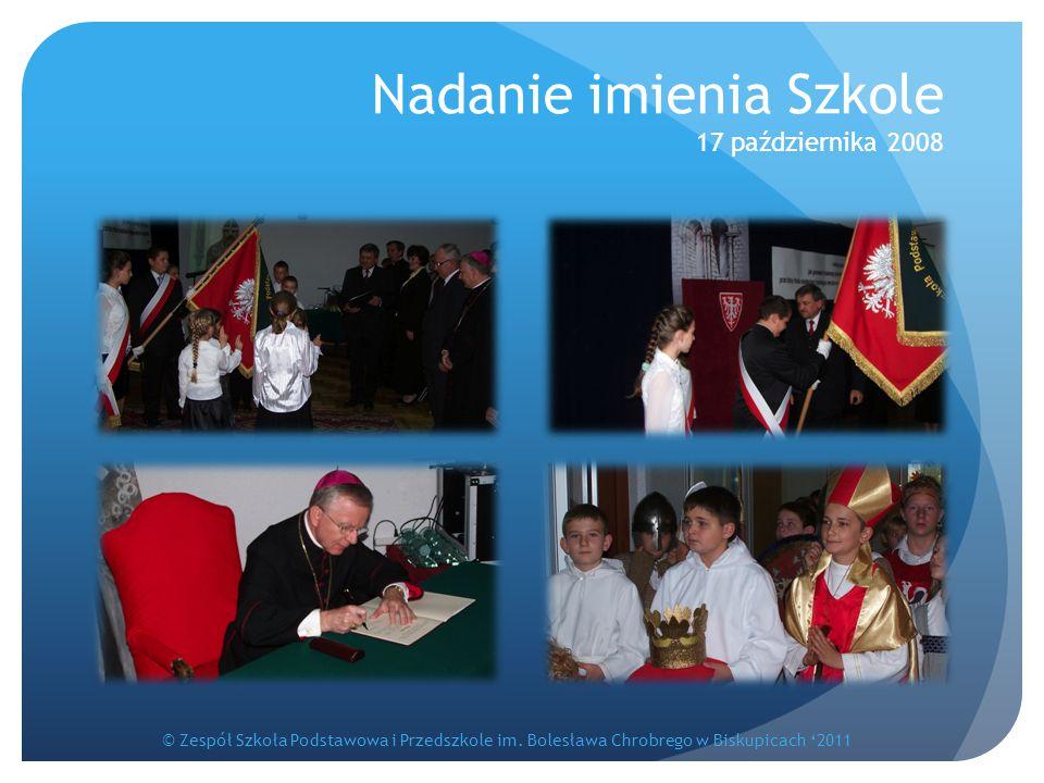 Nadanie imienia Szkole 17 października 2008