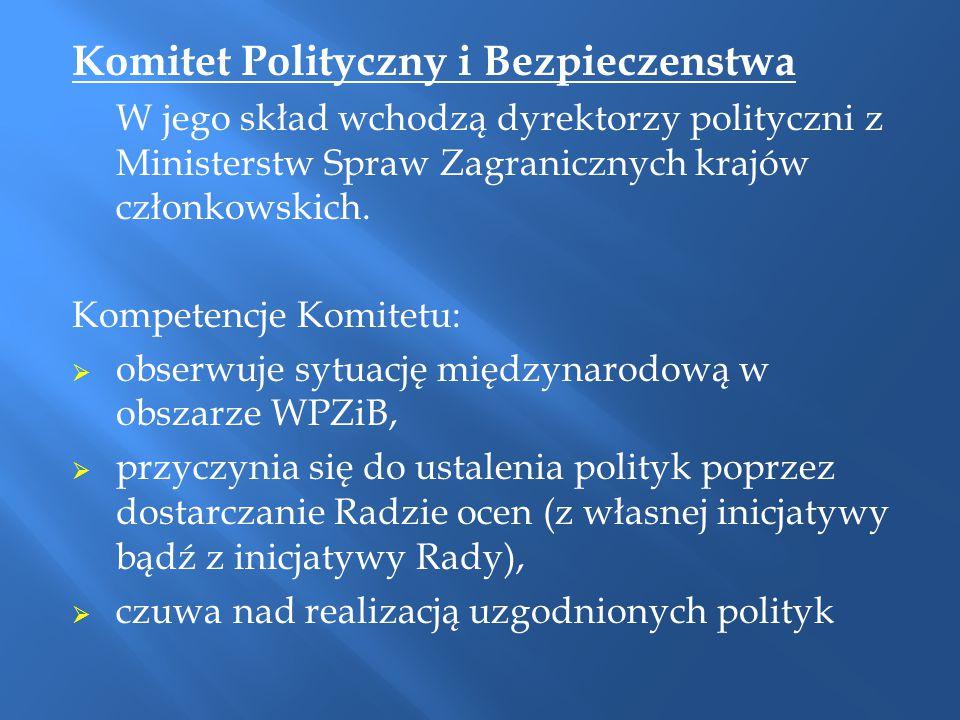 Komitet Polityczny i Bezpieczenstwa