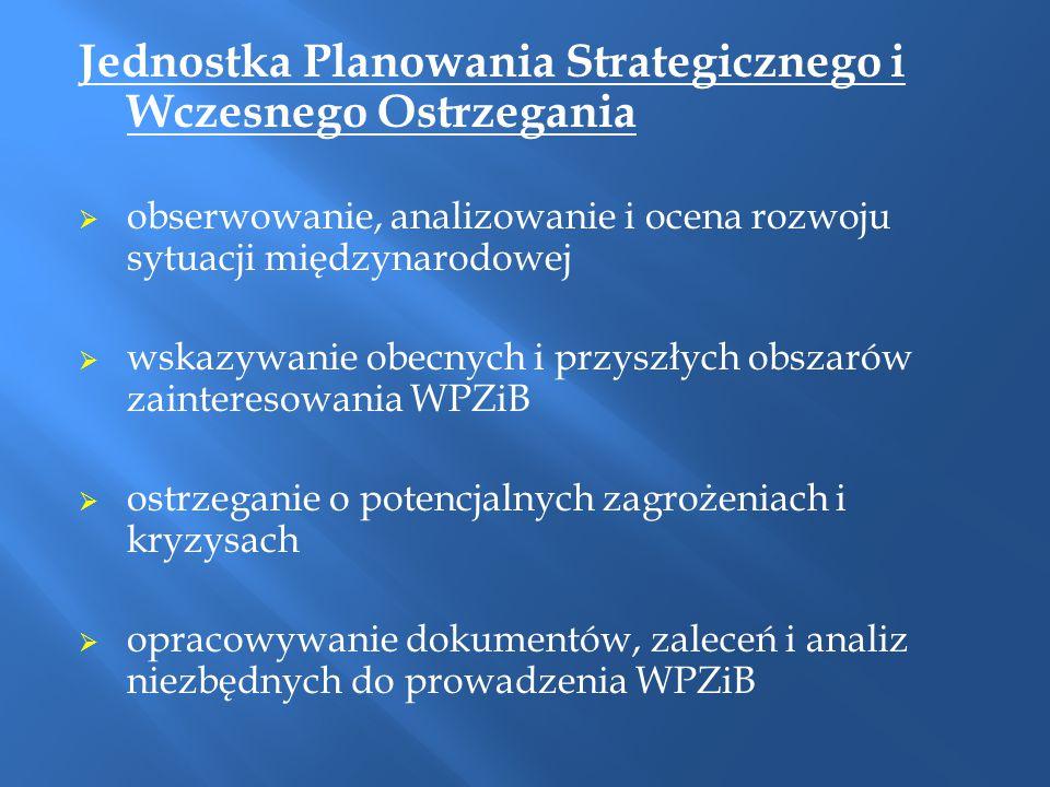 Jednostka Planowania Strategicznego i Wczesnego Ostrzegania