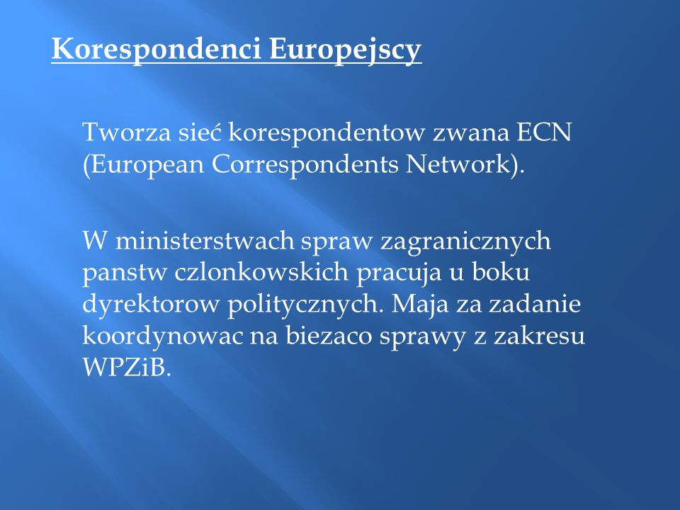 Korespondenci Europejscy