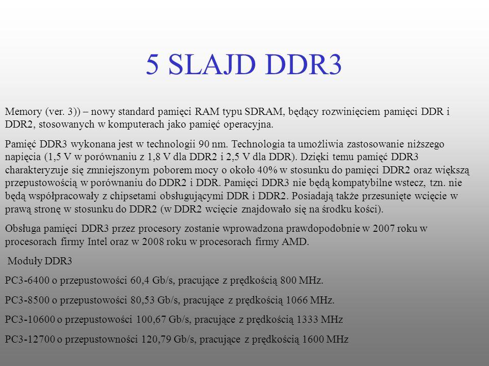 Memory (ver. 3)) – nowy standard pamięci RAM typu SDRAM, będący rozwinięciem pamięci DDR i DDR2, stosowanych w komputerach jako pamięć operacyjna.
