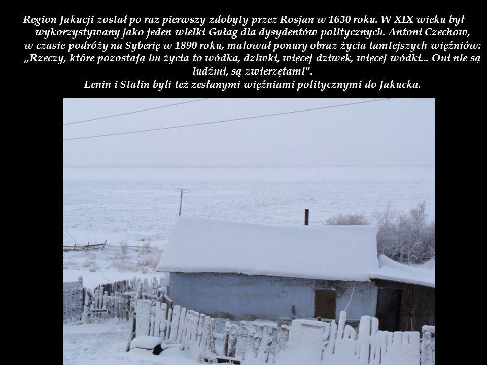 Region Jakucji został po raz pierwszy zdobyty przez Rosjan w 1630 roku