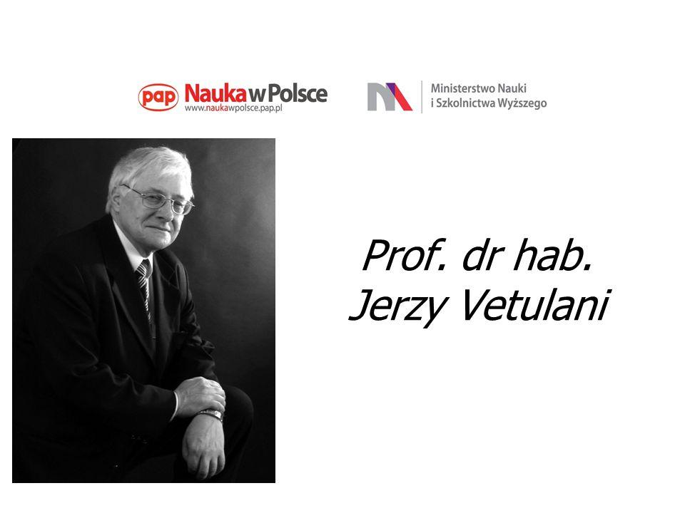 Prof. dr hab. Jerzy Vetulani