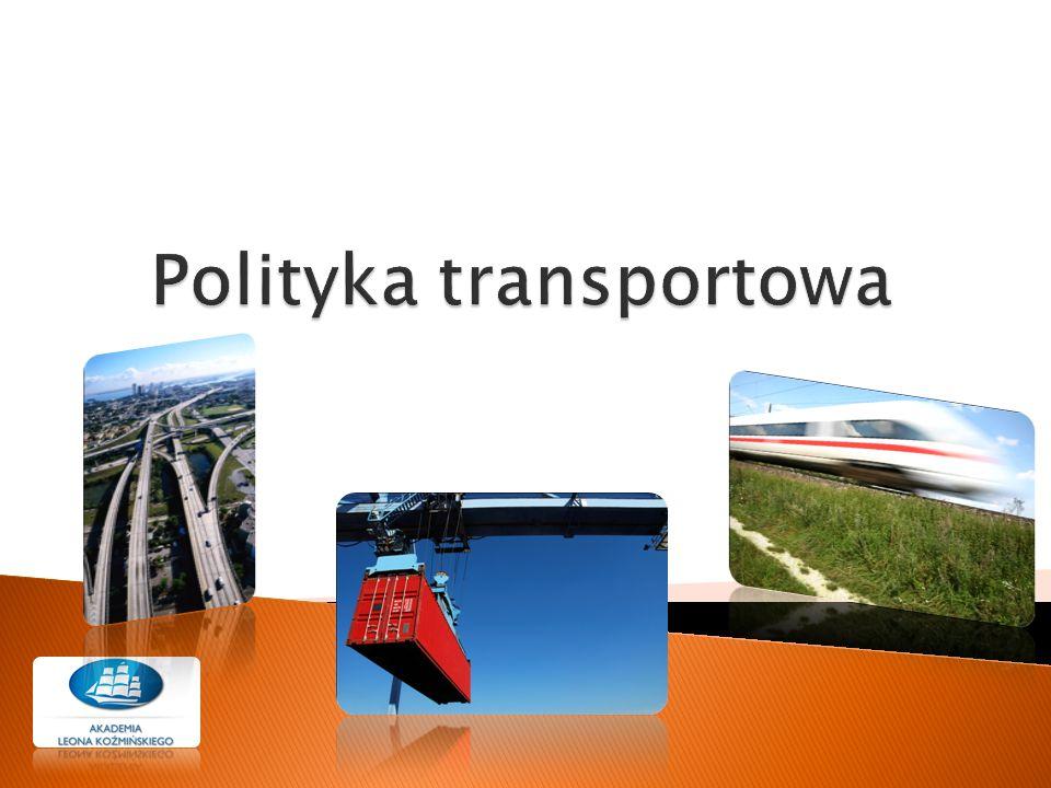 Polityka transportowa
