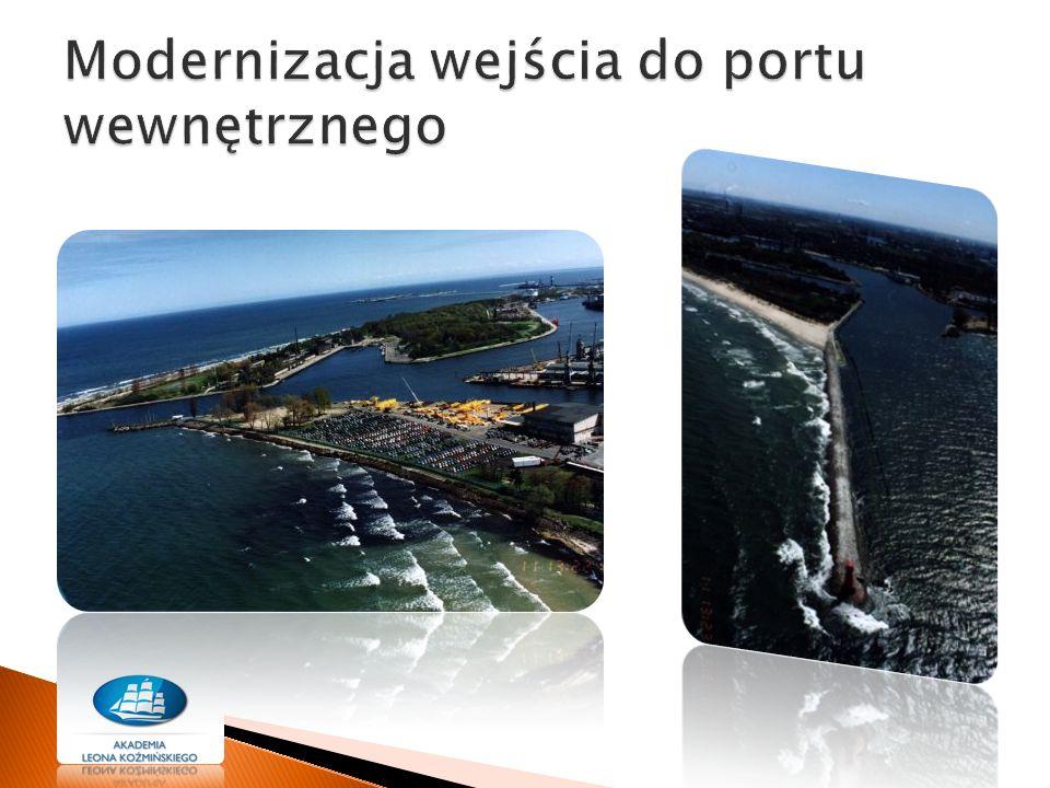 Modernizacja wejścia do portu wewnętrznego