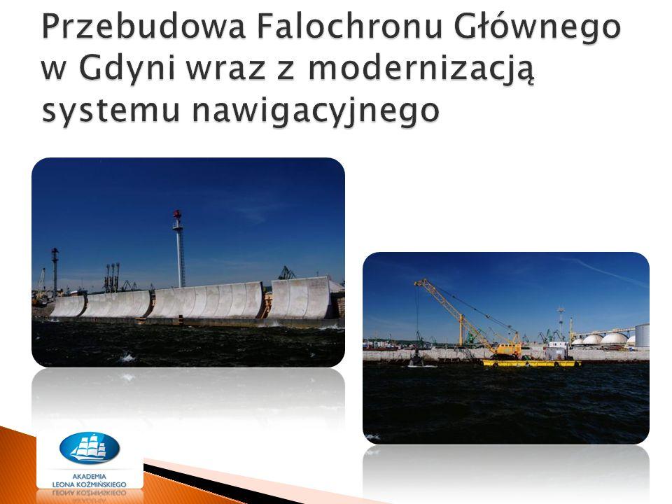 Przebudowa Falochronu Głównego w Gdyni wraz z modernizacją systemu nawigacyjnego