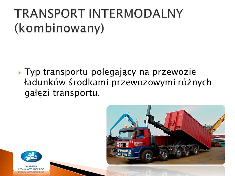 TRANSPORT INTERMODALNY (kombinowany)