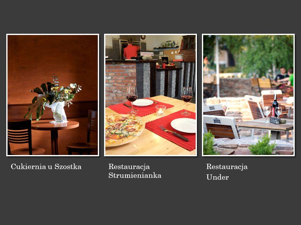 Cukiernia u Szostka Restauracja Strumienianka Restauracja Under