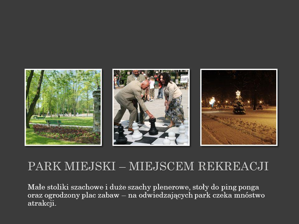 Park miejski – miejscem rekreacji