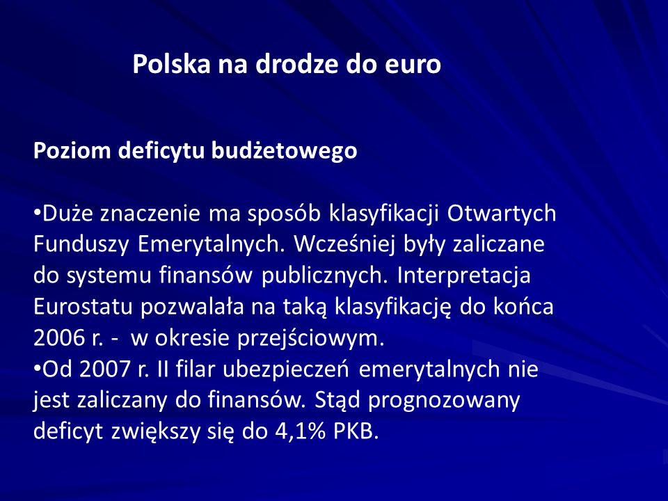 Polska na drodze do euro