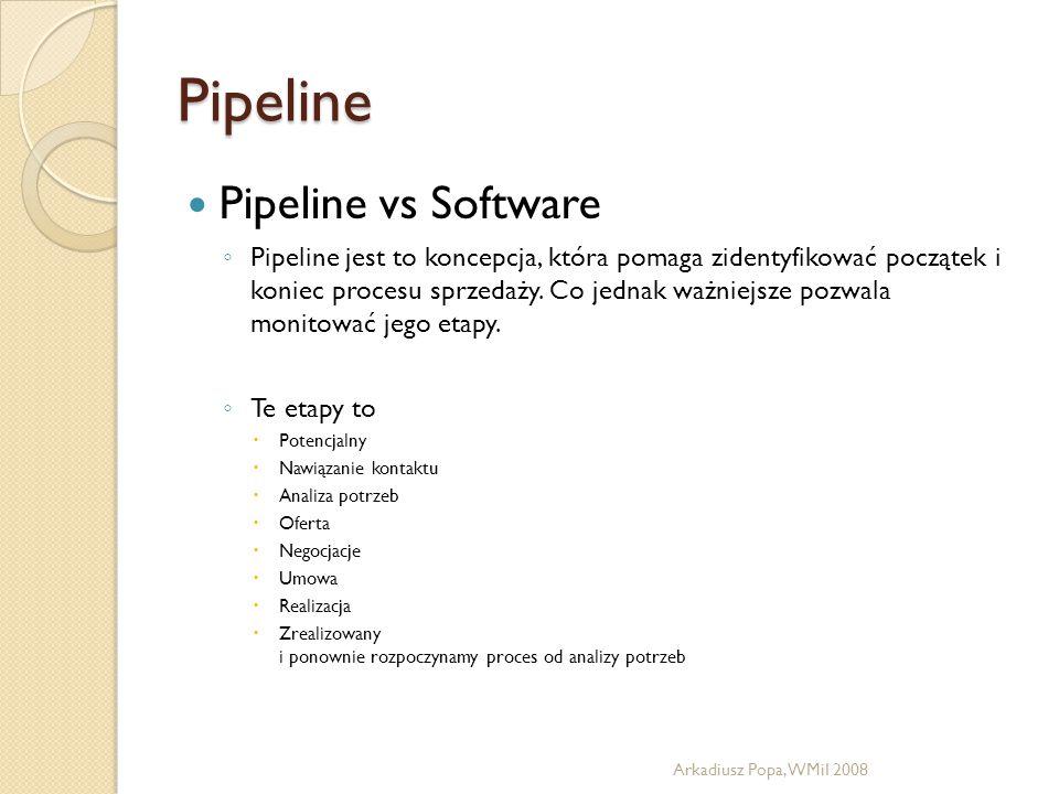 Pipeline Pipeline vs Software