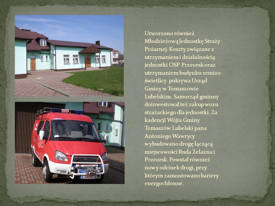 Utworzono również Młodzieżową Jednostkę Straży Pożarnej