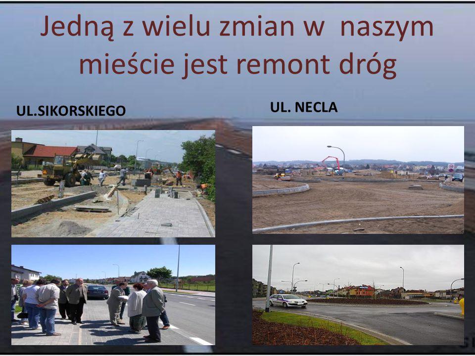 Jedną z wielu zmian w naszym mieście jest remont dróg