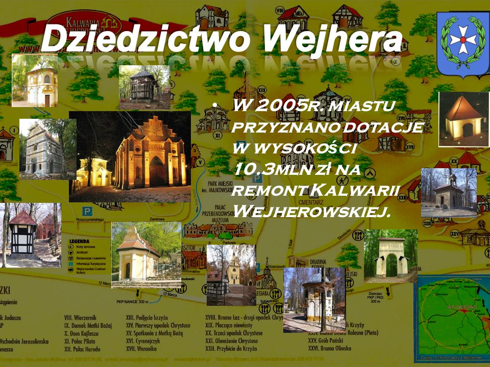 Dziedzictwo Wejhera W 2005r.