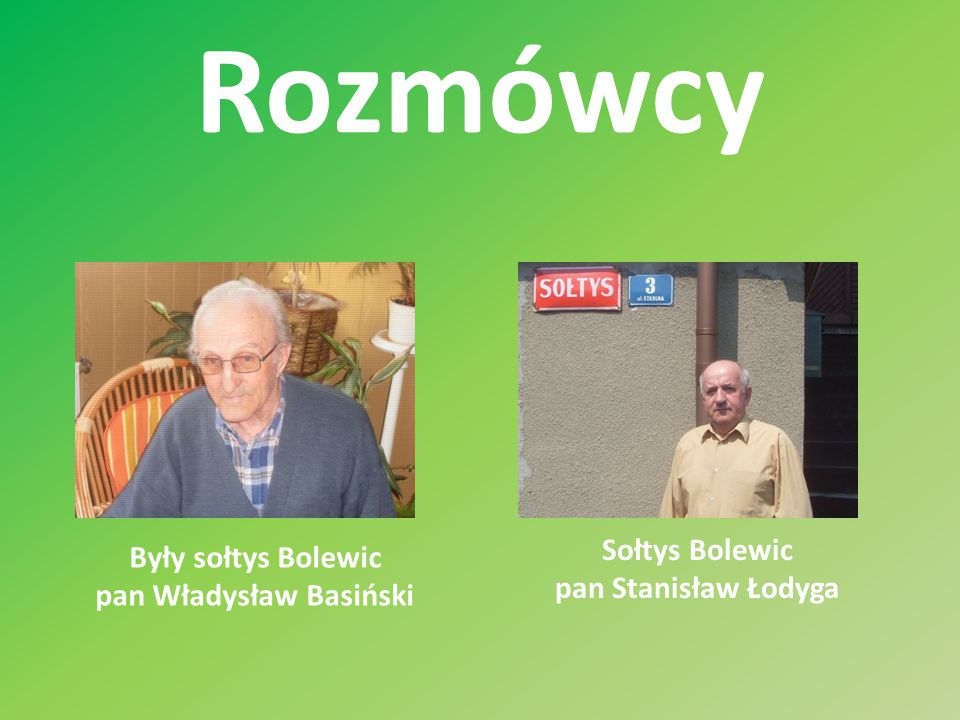 pan Władysław Basiński