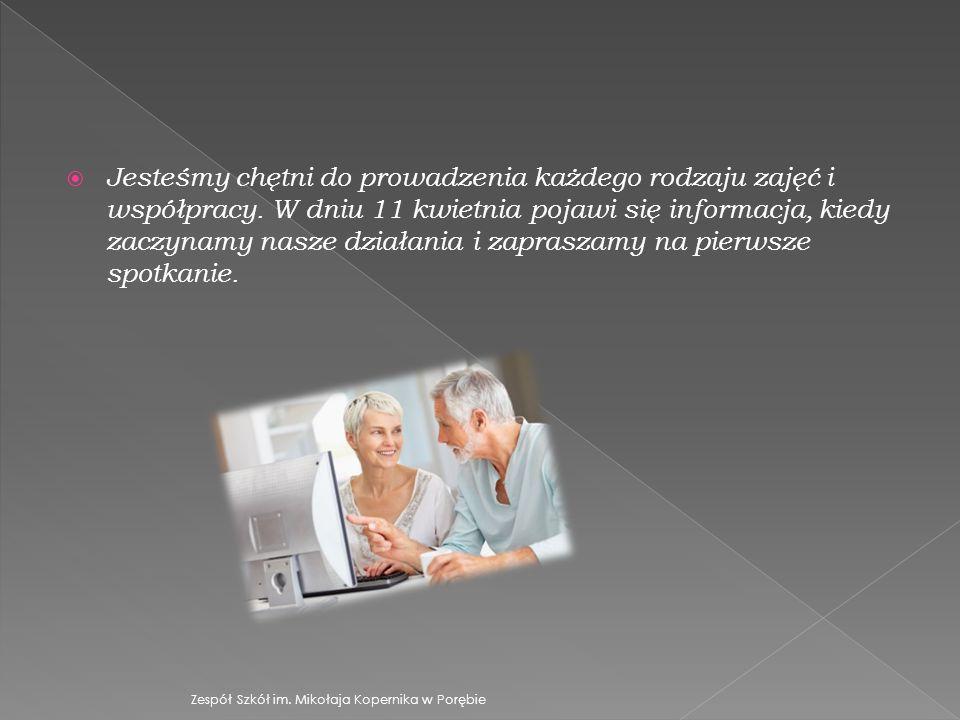 Jesteśmy chętni do prowadzenia każdego rodzaju zajęć i współpracy