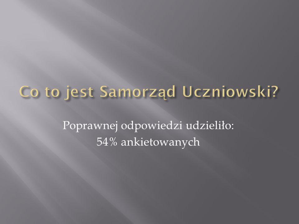 Co to jest Samorząd Uczniowski