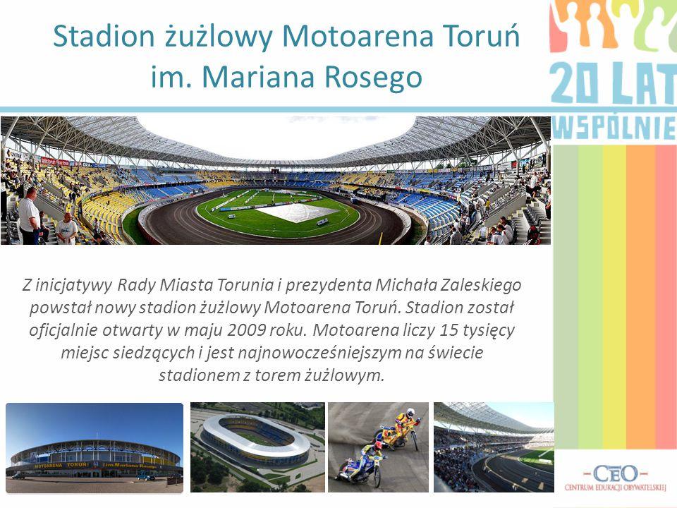 Stadion żużlowy Motoarena Toruń im. Mariana Rosego