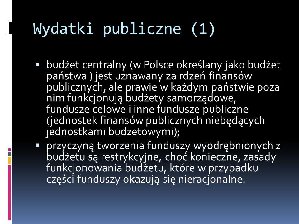 Wydatki publiczne (1)