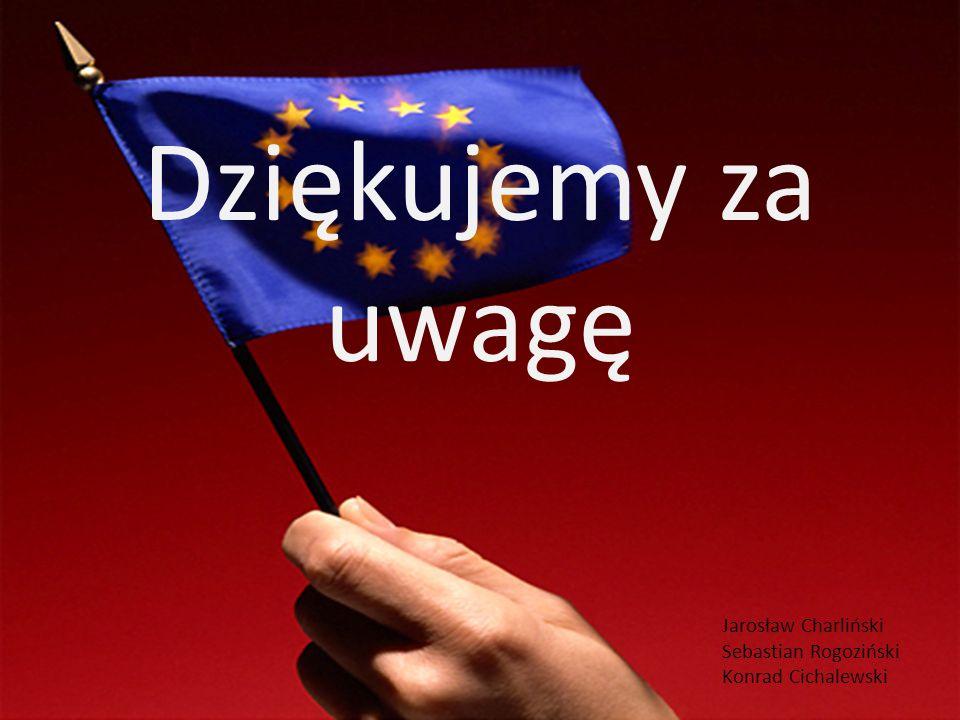 Dziękujemy za uwagę Jarosław Charliński Sebastian Rogoziński