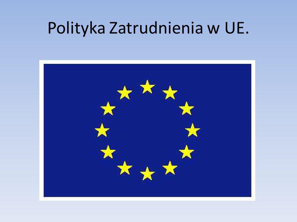 Polityka Zatrudnienia w UE.