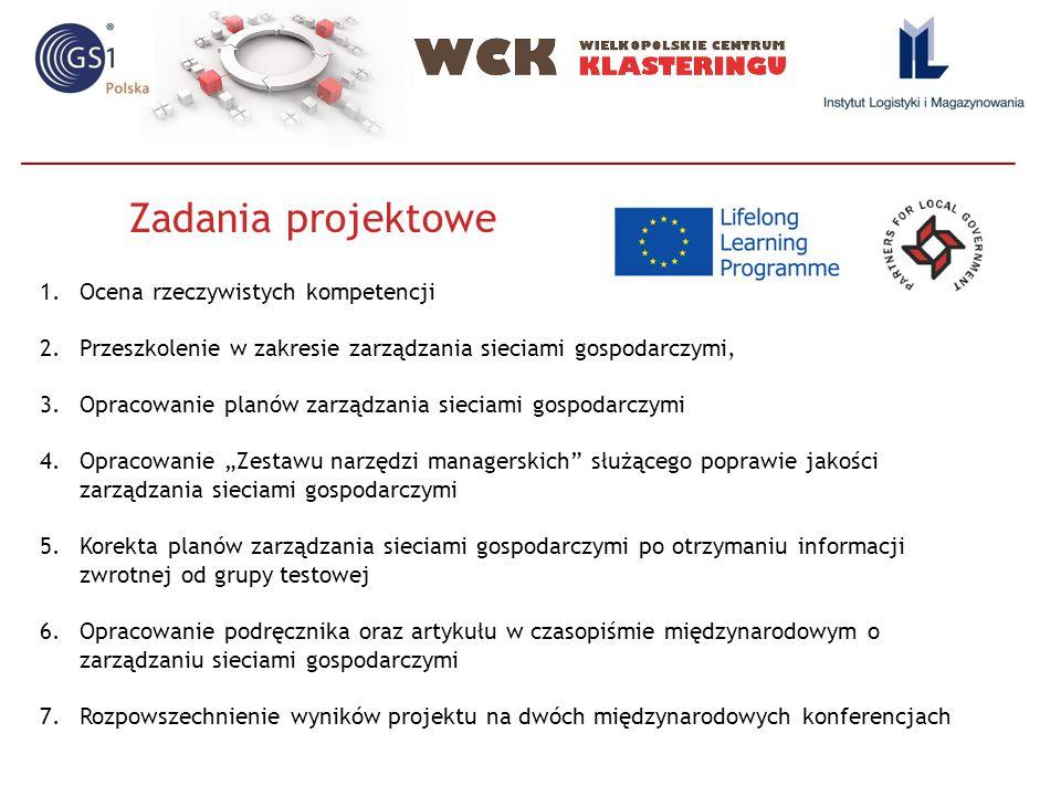 Zadania projektowe Ocena rzeczywistych kompetencji