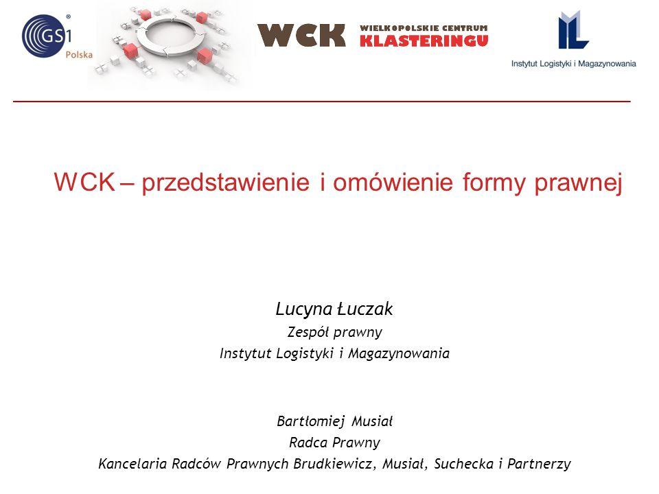 WCK – przedstawienie i omówienie formy prawnej