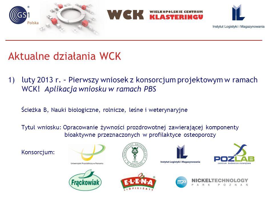 Aktualne działania WCK