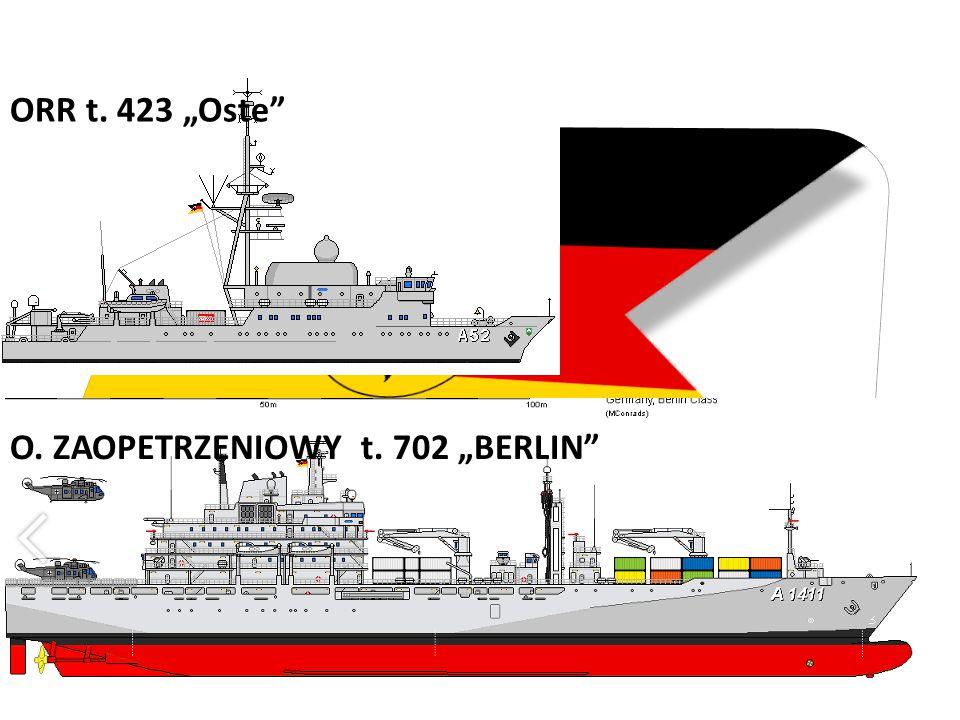 """ORR t. 423 """"Oste O. ZAOPETRZENIOWY t. 702 """"BERLIN"""