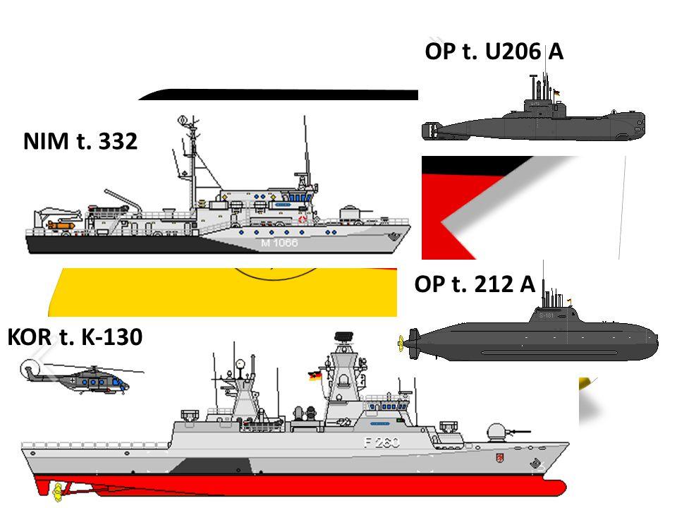 OP t. U206 A NIM t. 332 OP t. 212 A KOR t. K-130