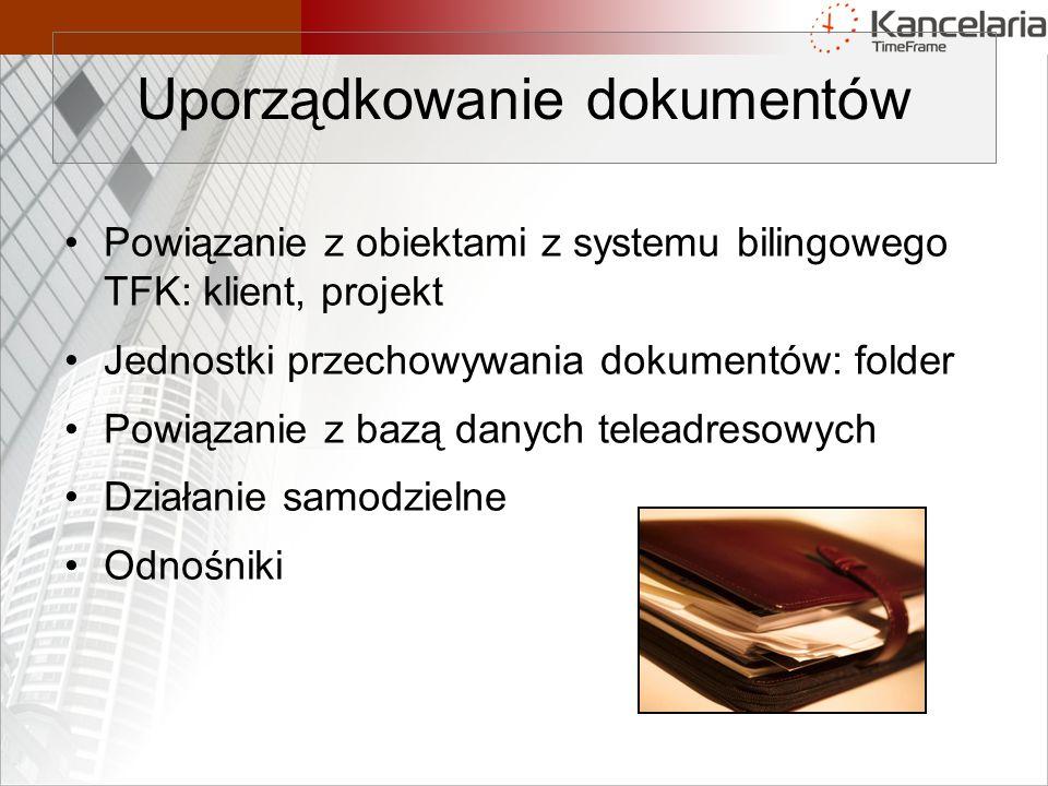 Uporządkowanie dokumentów