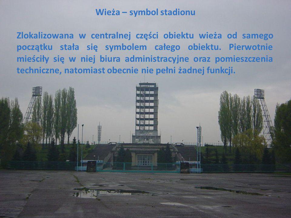 Wieża – symbol stadionu