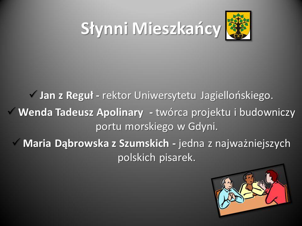Jan z Reguł - rektor Uniwersytetu Jagiellońskiego.