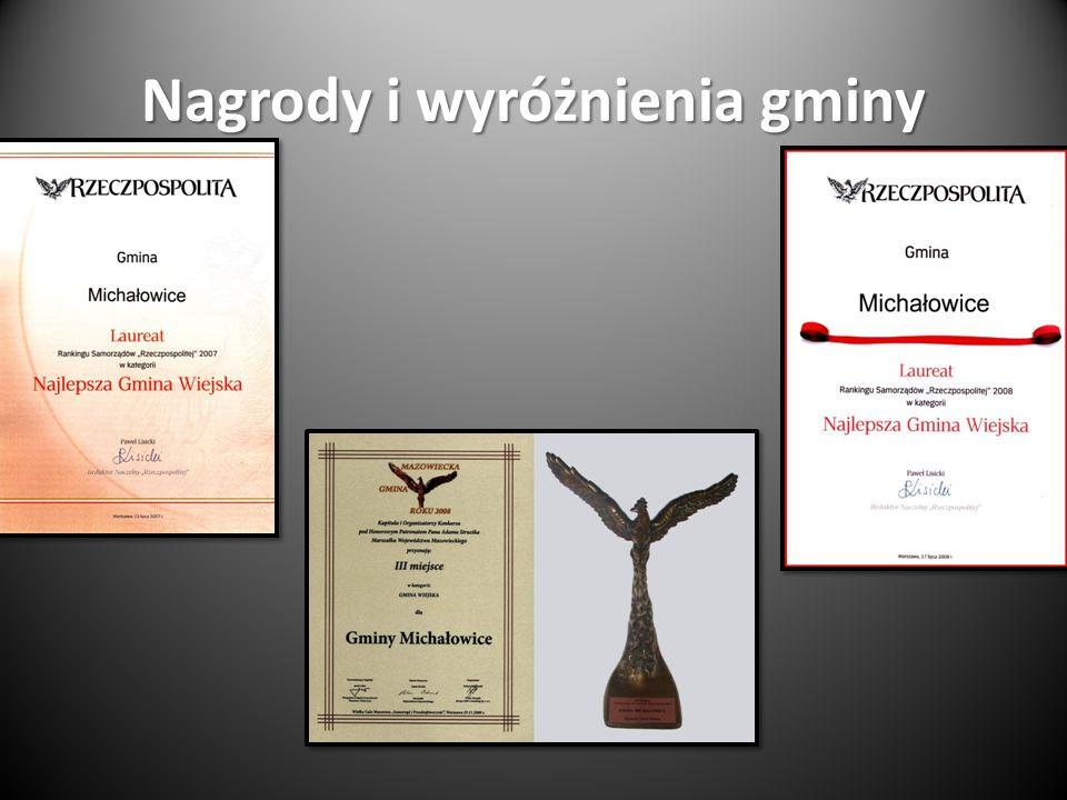 Nagrody i wyróżnienia gminy