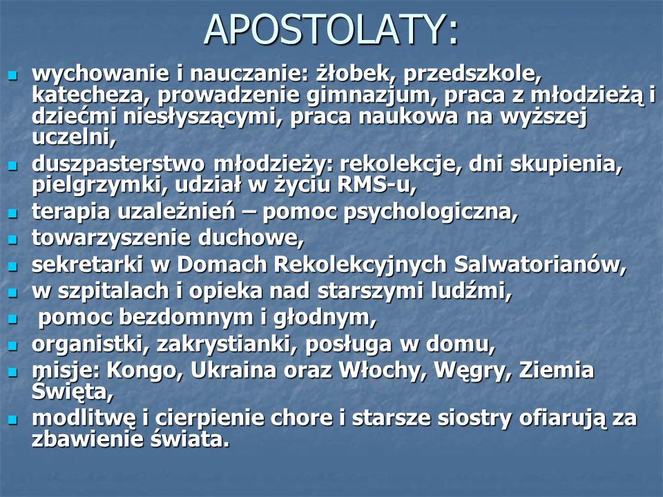 APOSTOLATY: