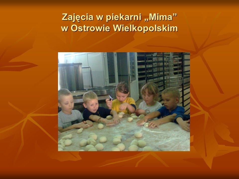 """Zajęcia w piekarni """"Mima w Ostrowie Wielkopolskim"""