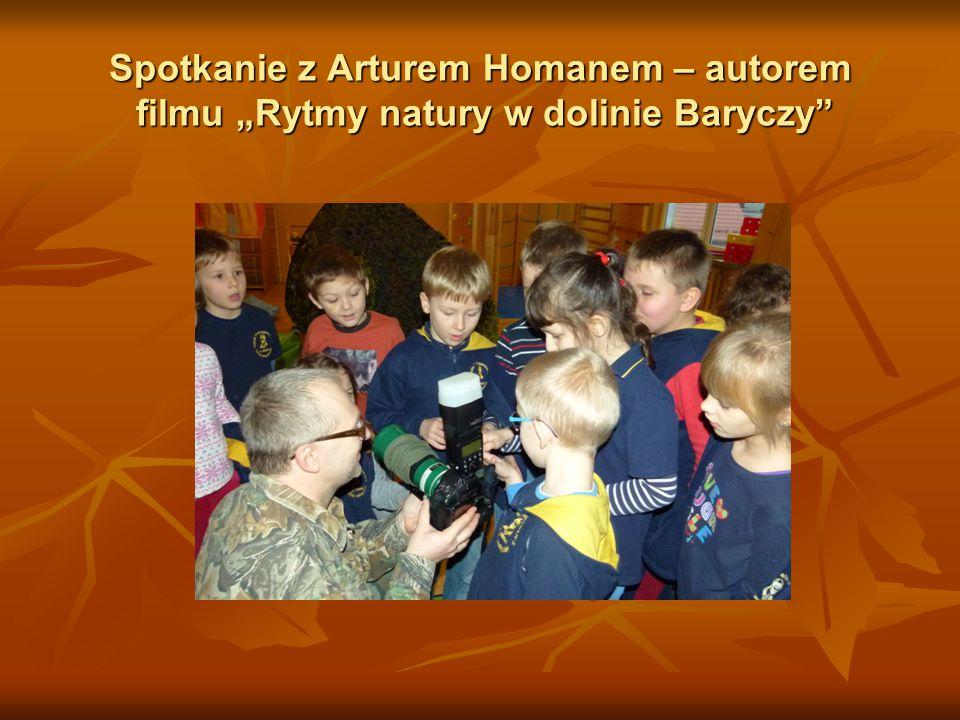 """Spotkanie z Arturem Homanem – autorem filmu """"Rytmy natury w dolinie Baryczy"""