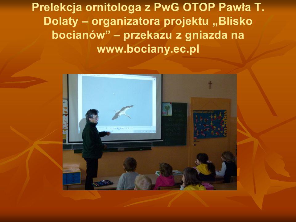 Prelekcja ornitologa z PwG OTOP Pawła T
