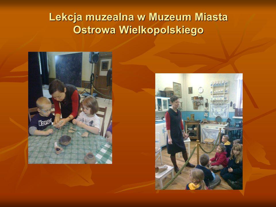 Lekcja muzealna w Muzeum Miasta Ostrowa Wielkopolskiego