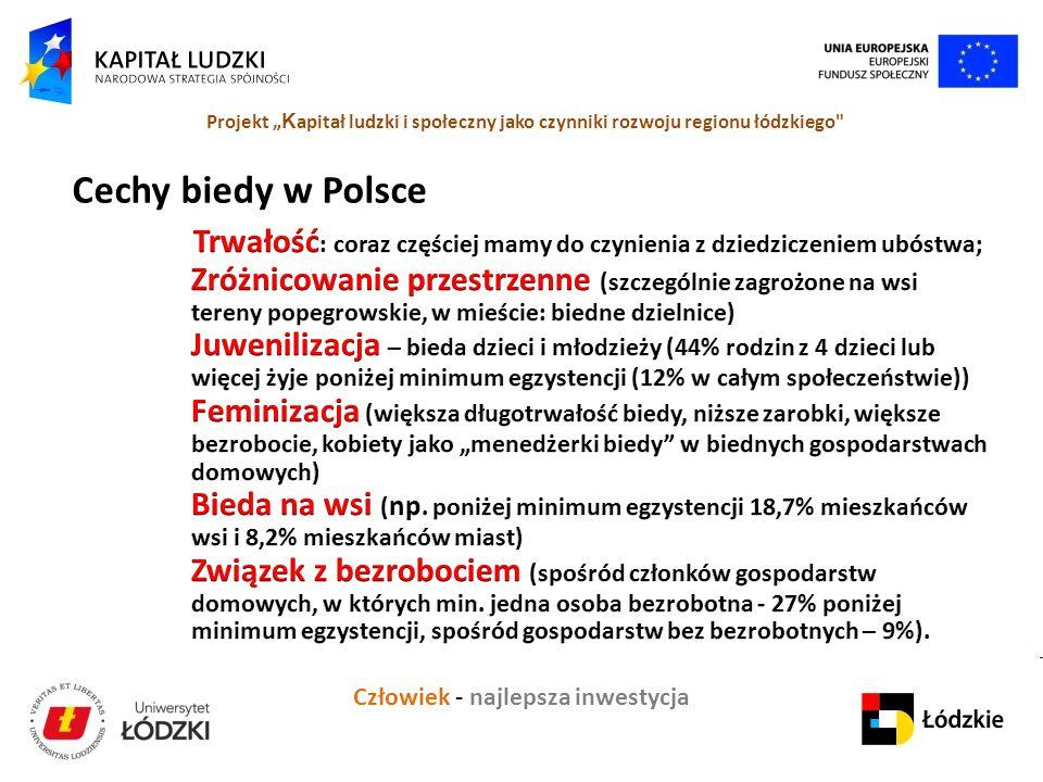 Cechy biedy w Polsce