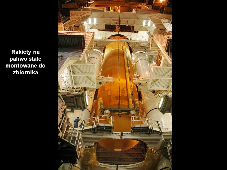 Rakiety na paliwo stałe montowane do zbiornika