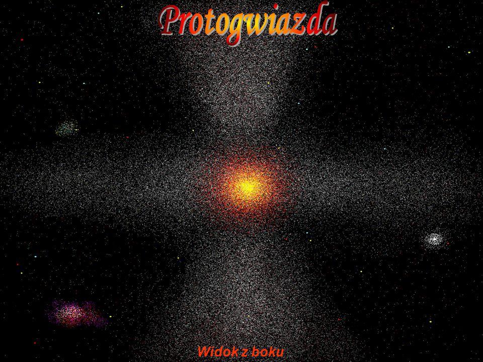 Protogwiazda Widok z boku