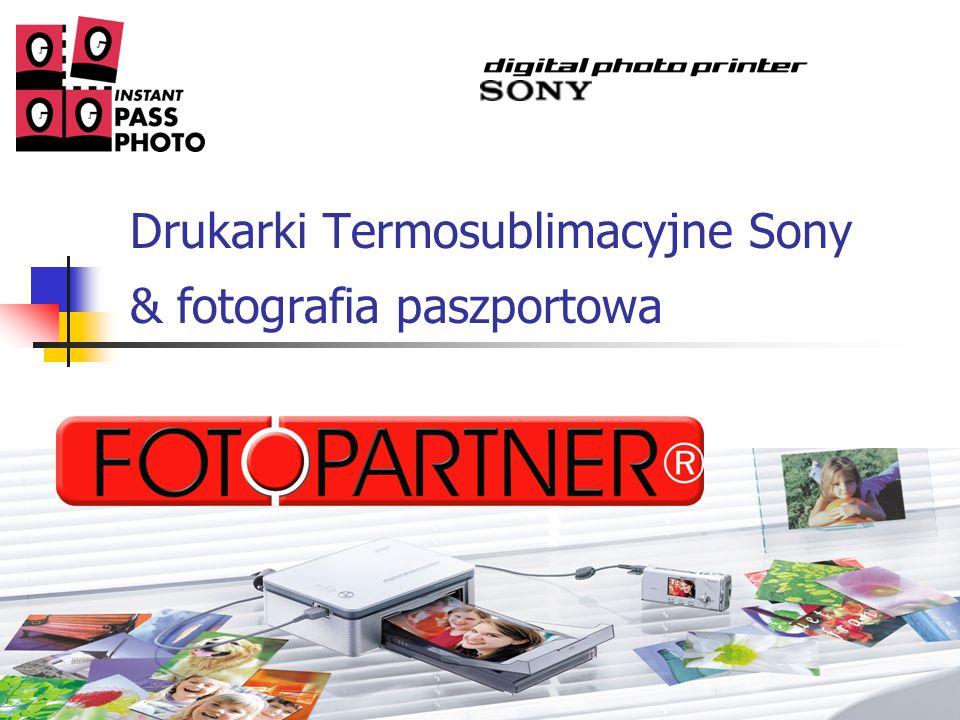 Drukarki Termosublimacyjne Sony & fotografia paszportowa