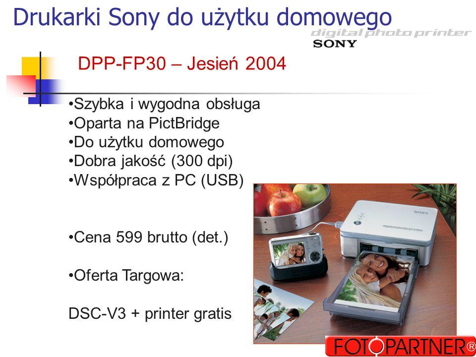 Drukarki Sony do użytku domowego