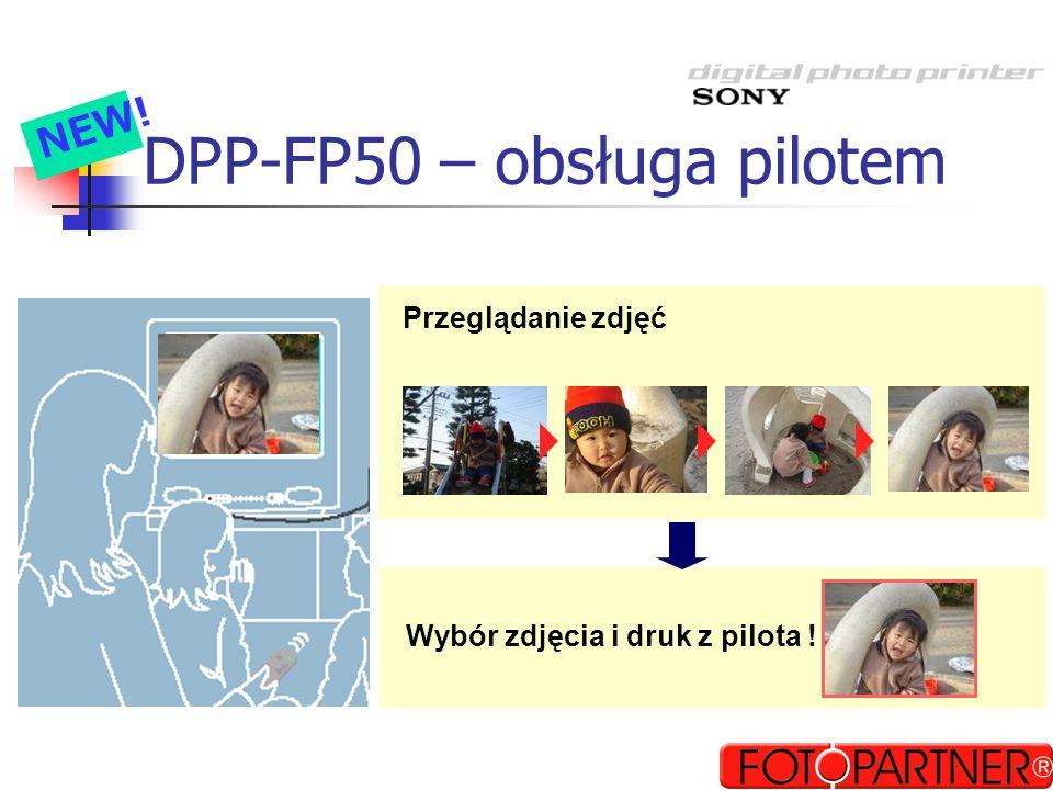 DPP-FP50 – obsługa pilotem