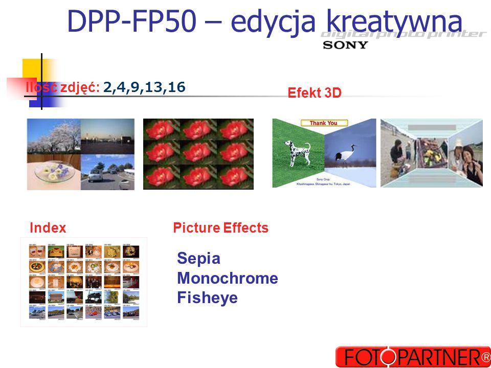 DPP-FP50 – edycja kreatywna